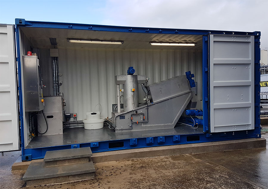 Containerised Dewatering System