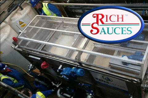 Water Tecnik Case Study - Rich Sauces