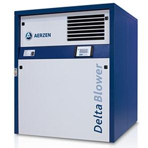 Aerzen blower for use on fine bubble diffused aeration systems.